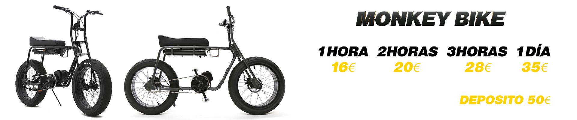 Precio monkey bike albir